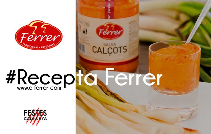 Recepta Conserves Ferrer: Autèntica Calçotada