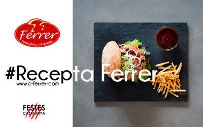Recepta Conserves Ferrer: Hamburguesa Deluxe