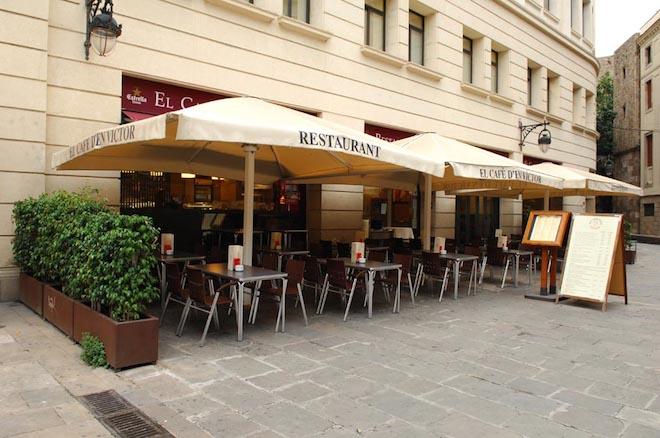 Cafè d'en Víctor, un clàssic a la plaça de la Catedral de Barcelona