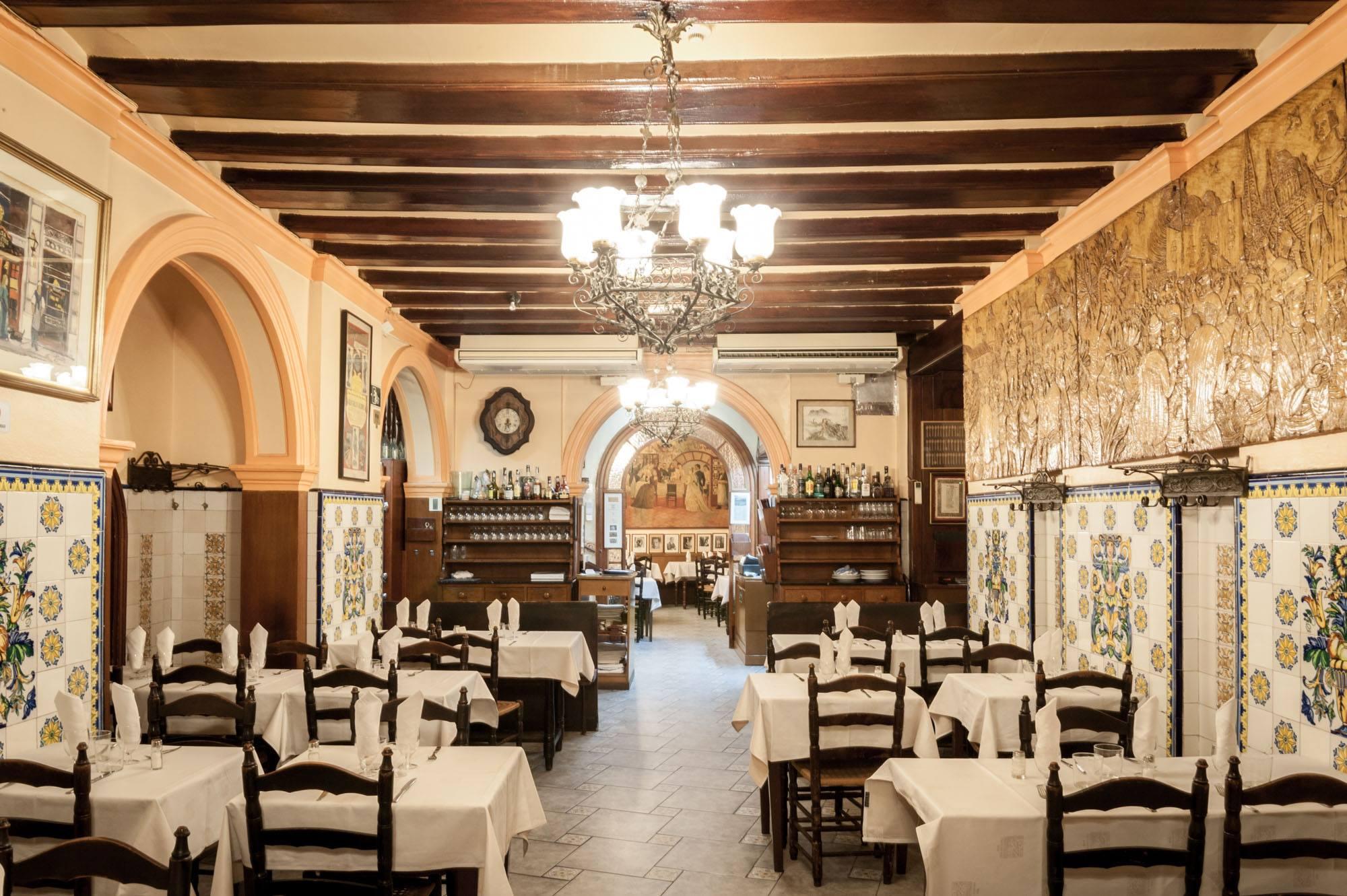 Can Culleretes, un restaurant amb més de 200 anys d'història